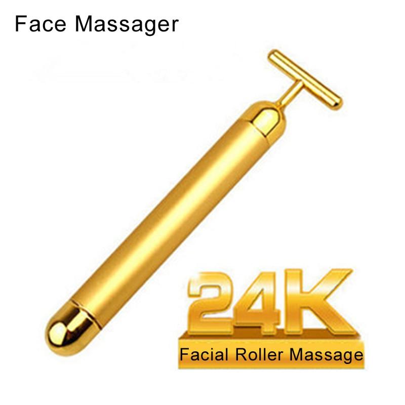 Waterproof Face care massager beauty Massager Facial Roller Serum Massage Skincare Wrinkle Treatment Care Massage
