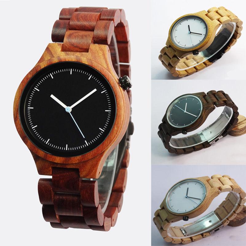MOROW Luxury Top Brand Natural Wooden Watch Men Women Maple Sandal Bamboo Wood Wristwatch Unisex Handmade