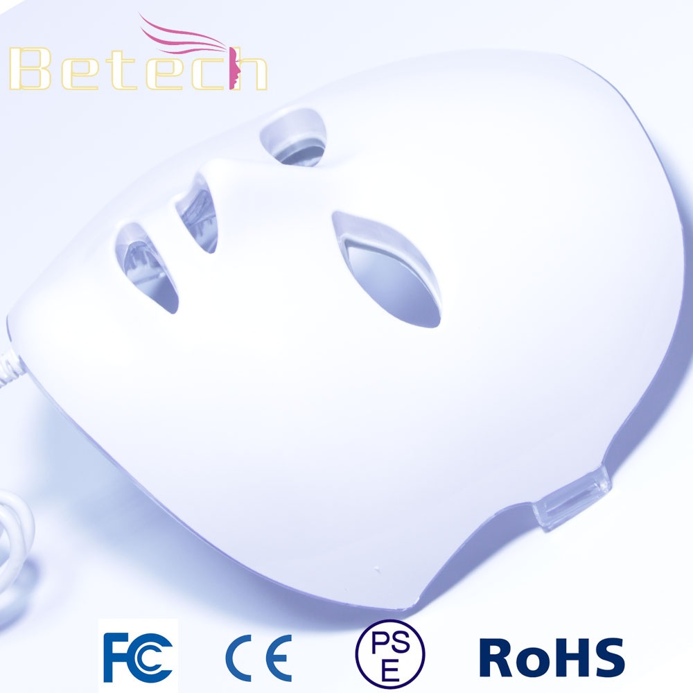 LED Photon Therapy 7 Colors Light Treatment Facial Beauty Skin Care Rejuvenation Light Therapy Acne Treatment Mask rechargeable pdt heating led photon bio light therapy skin care facial rejuvenation firming face beauty massager machine