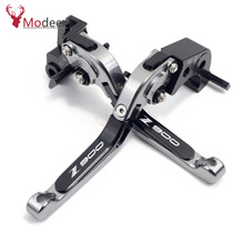 Buy 2018 2019 new Motorcycle Accessories Adjustable Brakes Clutch Levers Handle For Kawasaki Z900 Z-900 Z 900 2017 2018 2019 directly from merchant!
