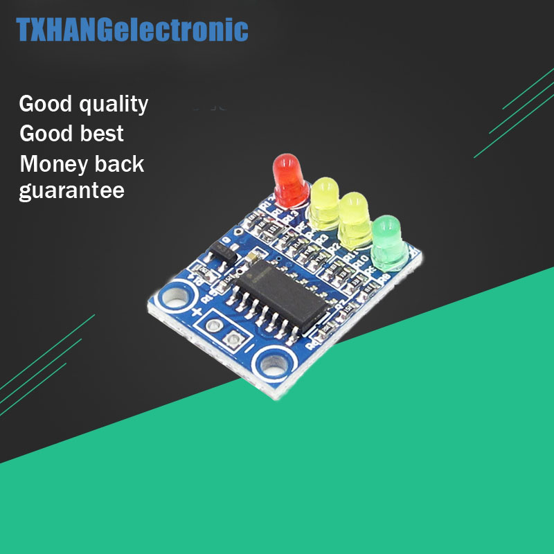 12V Electric Quantity 4 Power Indicator Battery Detection Module