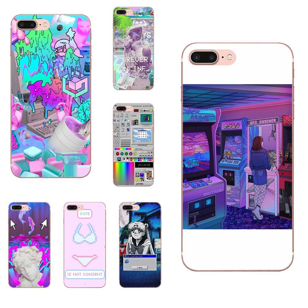 Cute Funny Steam Wave For Galaxy J1 J2 J3 J330 J4 J5 J6 J7 J730 J8 2015 2016 2017 2018 mini Pro TPU Fashion Cover Case(China)