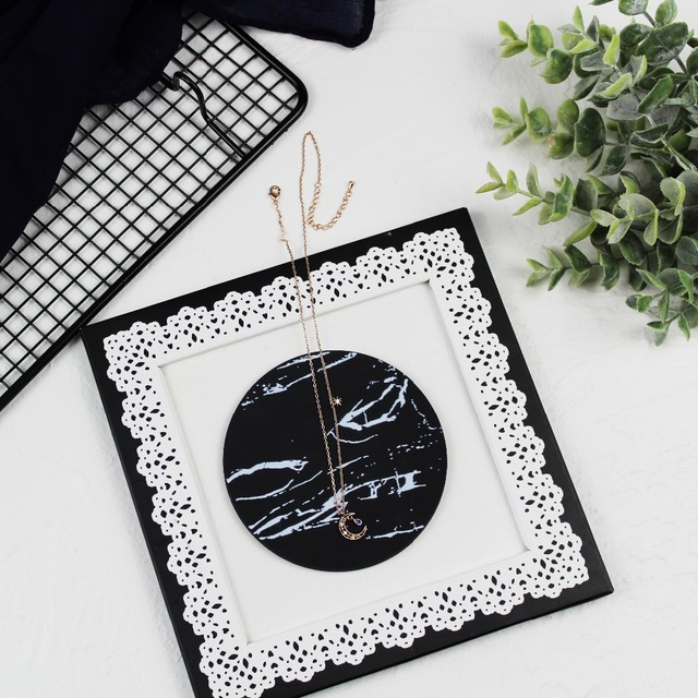 Marble Pattern Coffee Cup Coaster