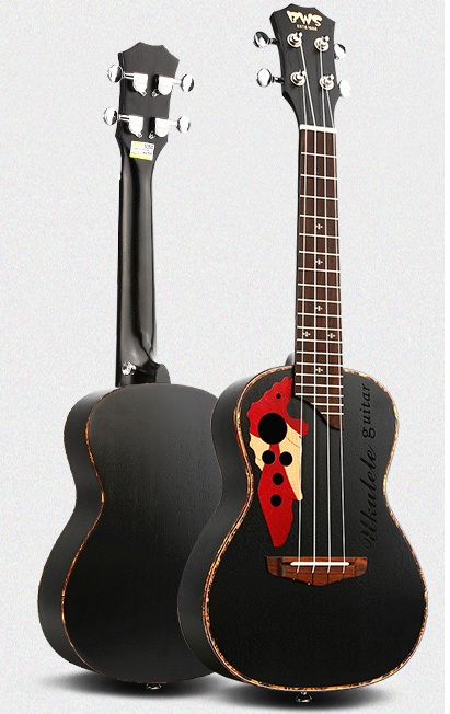 23 Ukulele Zebra Wood Concert Strings Guitars Brands Small Acoustic Wood Guitar Mini Acoustic Ukelele Handcraft Hawaii Musical