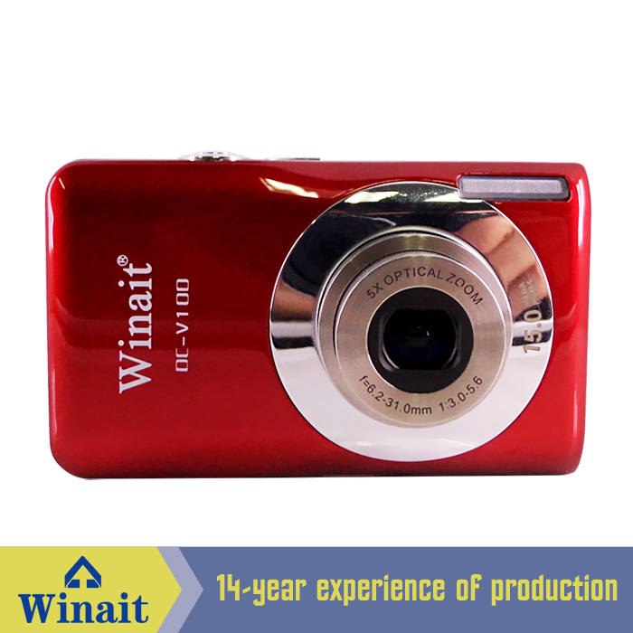 ФОТО Free Shipping 2.7LTPS LCD Display 15 MP Digital Camera with Face smile detection and anti-shake cameras
