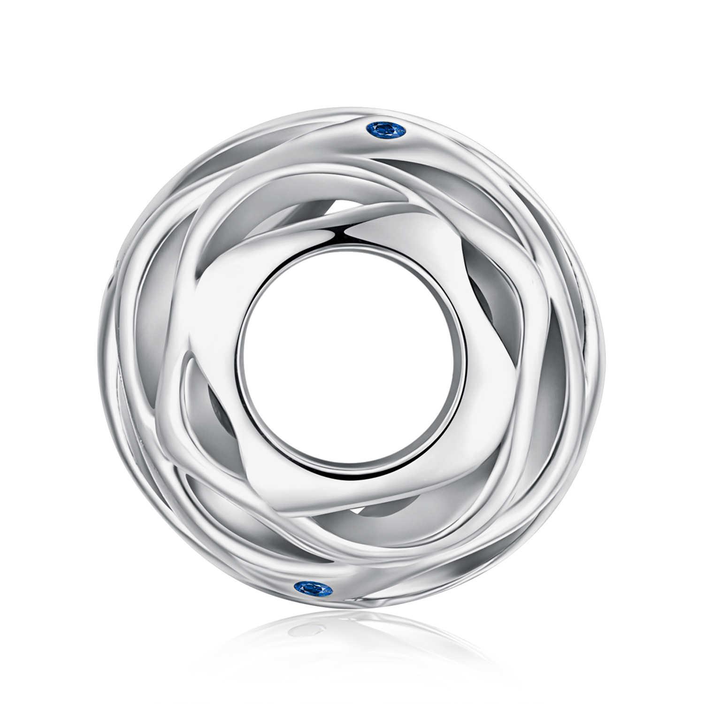 Jewelrypalace ondas 925 grânulos de prata esterlina encantos prata 925 original apto pulseira de prata 925 grânulos originais jóias fazendo