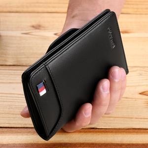 Image 4 - WILLIAMPOLO erkek cüzdan erkek slim kredi kart tutucu Bifold hakiki deri mini çoklu kart Case yuvaları inek derisi deri cüzdan yeni