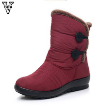 VTOTA Fashion Warm Winter Boots Women New Women Snow Boots Flat Non-slip Winter Shoes Woman Mujer Botas ladies shoes цены онлайн