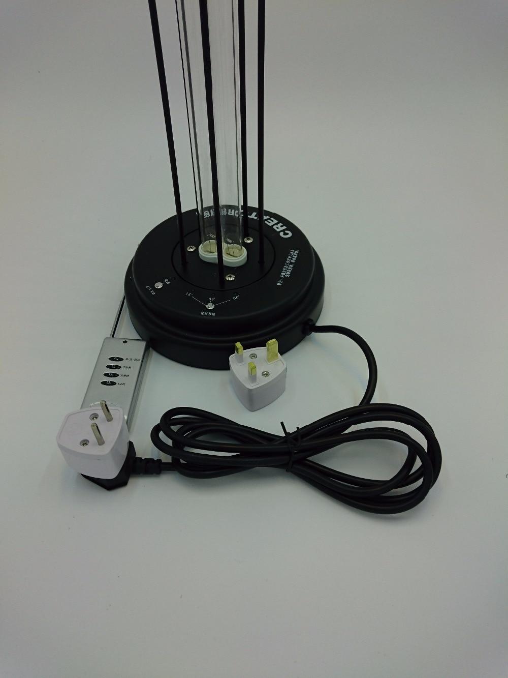 Portable Max 36 Watt Uv C Germicidal Ultraviolet Light