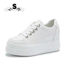 Скейтбординг белые туфли из искусственной кожи на толстом обувь для помещения Нескользящие женские Спортивная повседневная обувь прогулочная спортивные Для женщин обувь 157