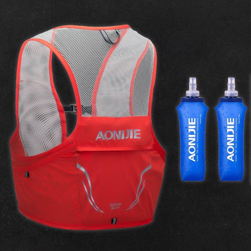AONIJIE 2.5L Chaleco de correr ligera mochila respirable maratón portátil ultraligero Nylon senderismo bolsa de deporte C932