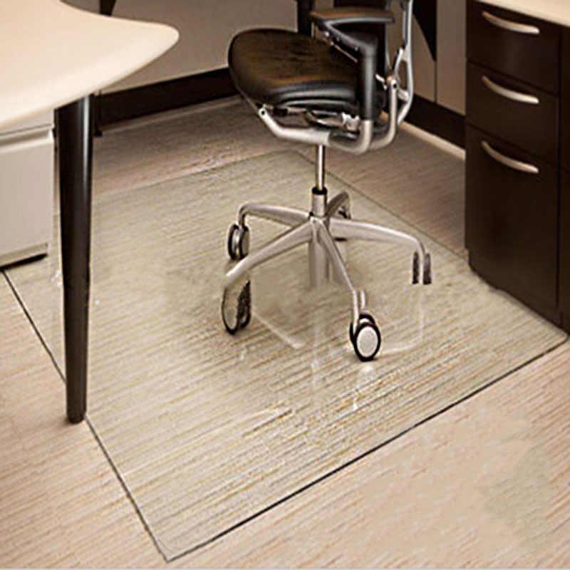 Kreative PVC Boden Matte Transparent Teppiche Holzboden Schutz Teppiche Stuhl Fußmatten Teppich Teppiche Wasserdicht Teppich Decor 1,0mm