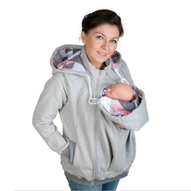 multifunctional baby carrier cover jacket kangaroo maternity hoodies sweatshirts women clothes for pregnant maternity outerwear - Carrier Cover