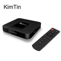 2017 KimTin Android 7.1 TV Box Amlogic Ram 2G 1G Rom 16G S905W Quad Core KODI Odtwarzacz Multimedialny LAN WiFi DLNA Airplay UHD 4 K miracast