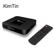 Kimtin TX3 Ми Android 7.1 ТВ Box оперативной памяти 2 г ПЗУ 16 г Amlogic s905w 4 ядра 2.4 г Wi-Fi Коди UHD 4 К Media Player ж/Airplay Miracast