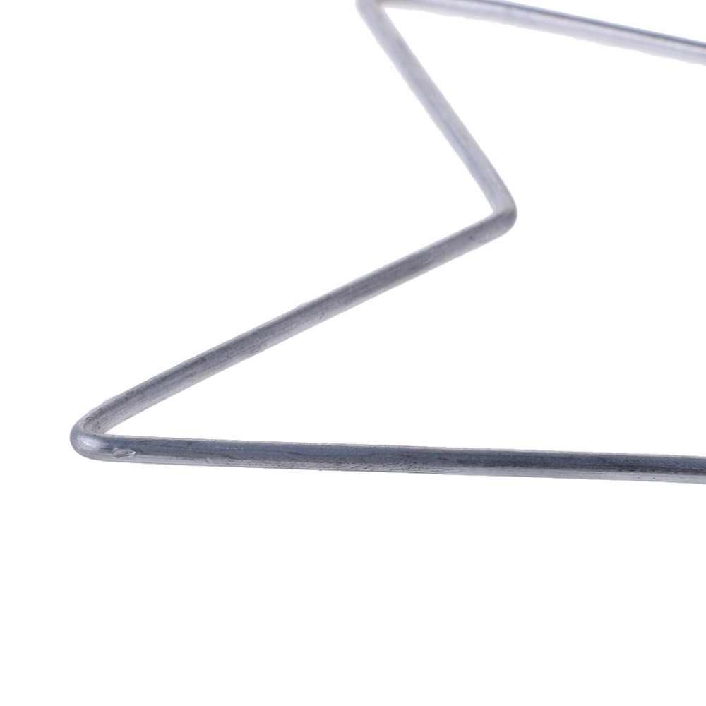 5/11. 5/14. 5/19. 5 เซนติเมตร Star รูปร่างโลหะ Dream Catcher Dreamcatcher แหวน Macrame Craft Hoop อุปกรณ์เสริม DIY 4 ขนาด