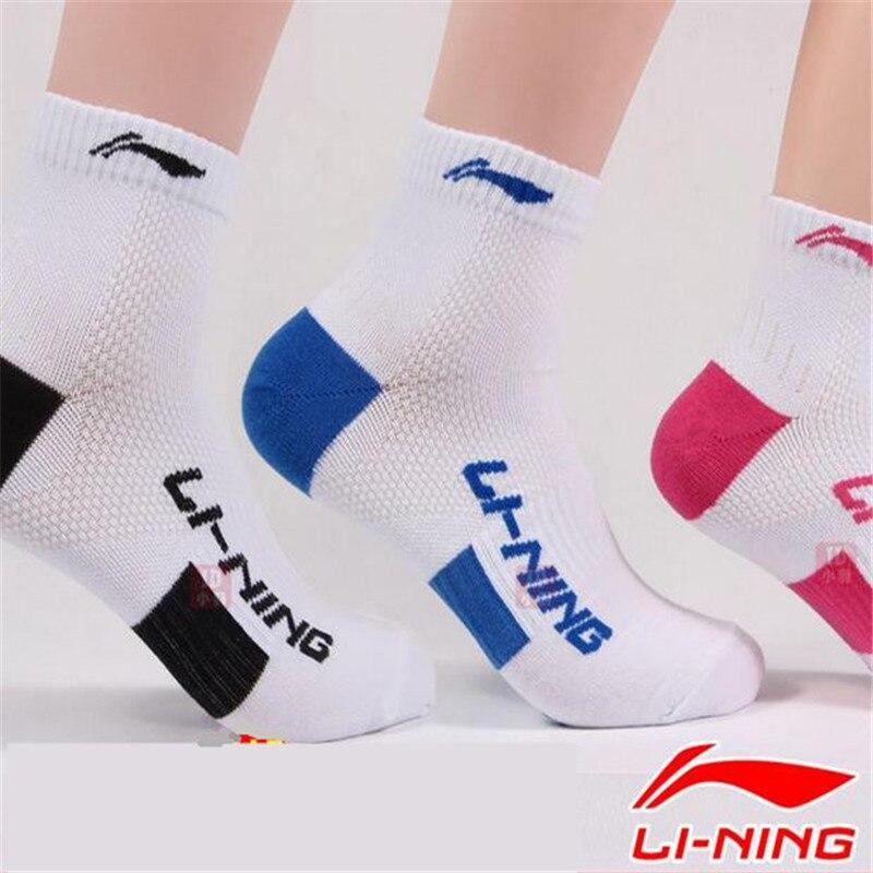 Prix pour D'origine Lining Chaussettes AWSJ229 Marque Qualité Summer Style Respirant chaussettes de Sport pour Hommes et Femmes L387