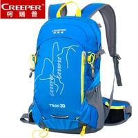 Man Women Outdoor Professional Camping Hiking Cycling Backpack Riding Rucksacks Nylon Waterproof Sport Travel Bag 25L