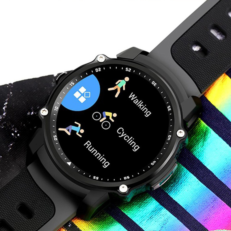 FS08 Professional Sport Smart Watch Waterproof IP68 Heart Rate Monitor Multi-Mode Fitness Tracker Smartwatch for Android ios fs08 gps smart watch mtk2503 ip68 waterproof bluetooth 4 0 heart rate fitness tracker multi mode sports monitoring smartwatch