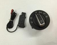 Auto Headlight Sensor + Chrome Switch For VW Golf MK5 / Golf MK6 / Jetta MK5 / Tiguan