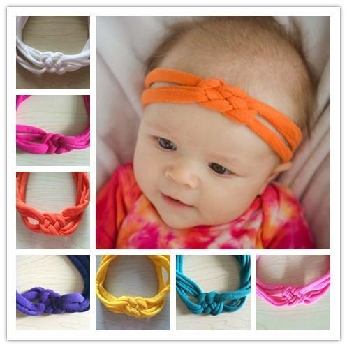 10pcs lot colors Sailor Knot Headbands jersey headband girl Braided headband  baby headwrap Turban jersey Headband 1312f148ad9