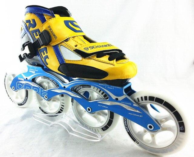Zapatos de patinaje de velocidad schankel rebec profesional hijo adulto  patines en línea con ruedas PS 60295f74415