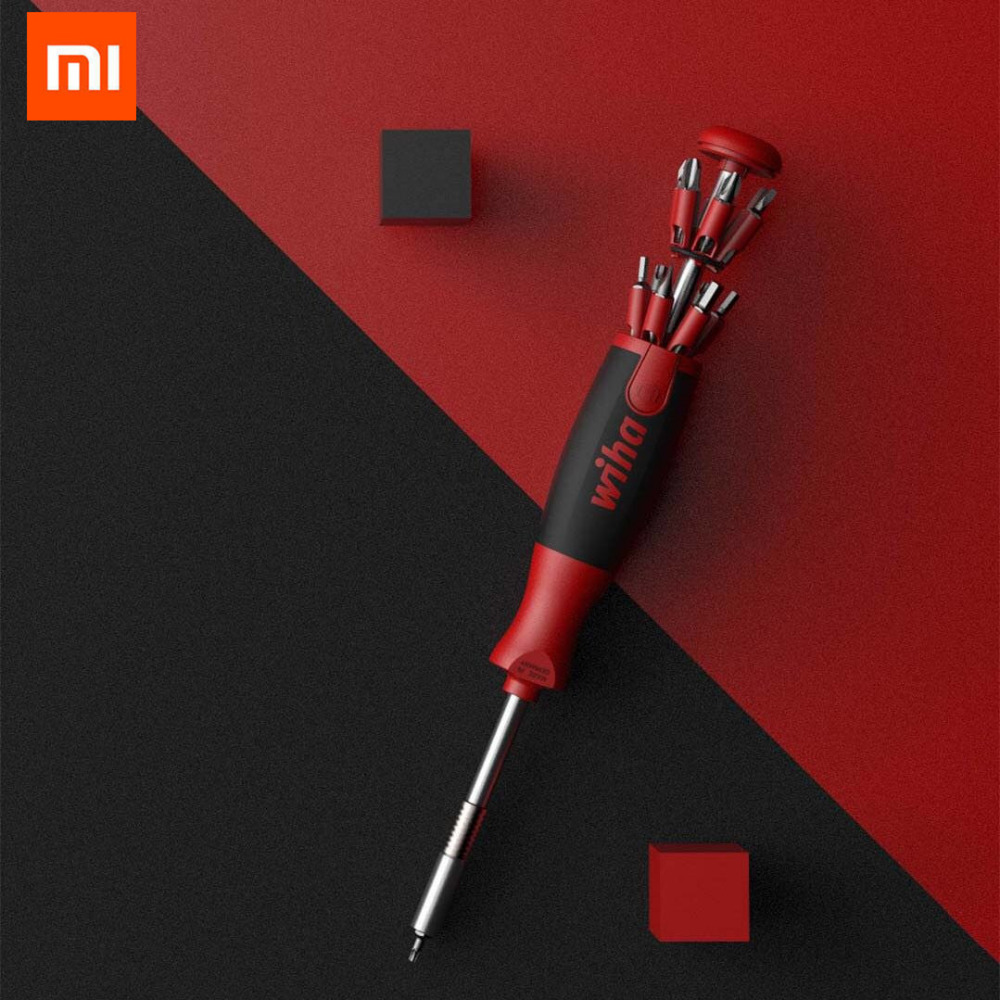 Original Xiaomi Wiha 26 in 1 Screw driver Kit with Hidden Magazine Design Precision Chrome Vanadium