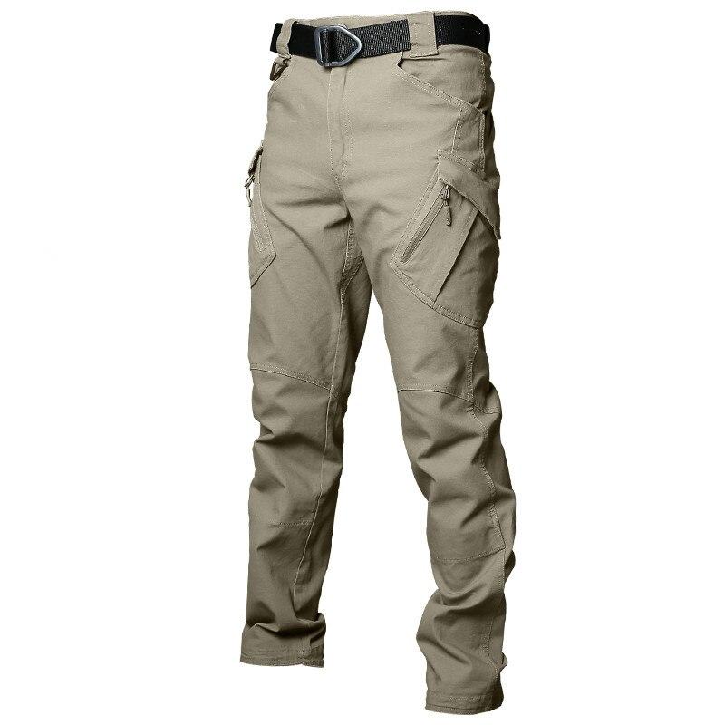 2018 nuevo IX9 táctico pantalones de los hombres de pantalones casuales pantalones de combate del SWAT militar activo trabajo de algodón Hombre pantalones para hombres 4XL 5XL