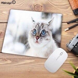 Image 2 - Mairuige لطيف القط الكلب الحيوان تعزيز 220*180*2 مللي متر ألعاب الكمبيوتر ماوس الوسادة ماوس تزيين مكتبك وسادة مطاطية عدم الانزلاق