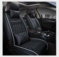 Universal Couro PU tampas de assento do carro Para A Volvo S60L V40 V60 S60 XC60 XC90 XC60 C70 s80 s40 auto acessórios car styling 3D Preto