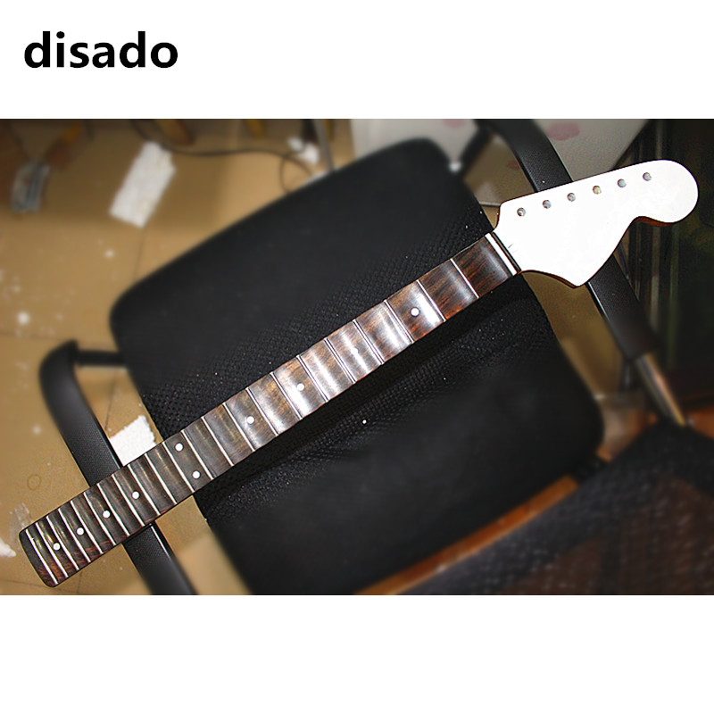 disado 22 Frets big headstock maple Electric Guitar Neck rosewood scallop fretboard inlay dots glossy paint guitar accessories disado 21 22 frets maple electric guitar neck rosewood scallop fretboard inlay dots glossy paint guitar parts accessories