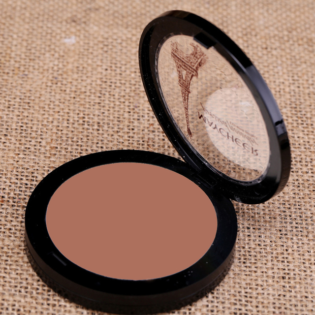 Dark Skin Cosmetic Bronzer Blush Makeup Brightener Matte Minerals Whiten Highlighting Face Powder Bronzer Contouring Makeup 4