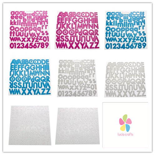 letters for scrapbooking chipboard 1pclot 048002016 1