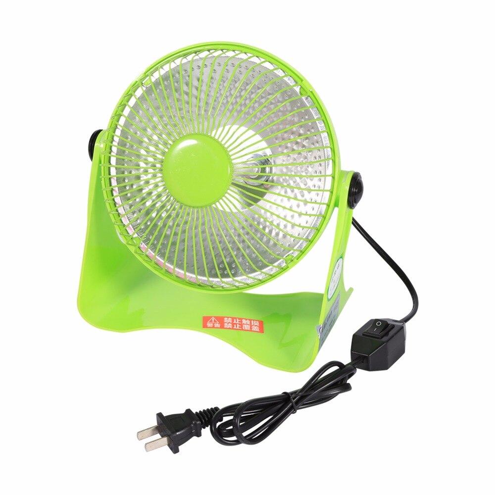 где купить  Mini Electric Heater Desktop Electric Fan Heater Warmer Winter Home Applicance Bedroom Garden US Plug 220V 200W  по лучшей цене