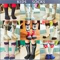 Soft Cotton Cute Kids Sock Striped Geometric Animal Baby Socks Boys Girls Knee Long Socks Children Leg Warmers meias infantil