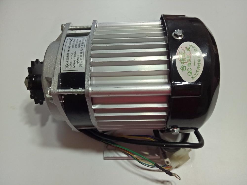 Здесь можно купить   48V 350W /500W PMDC Brushless Motor Electric Scooter Reduction Engine Tricycle Motor BM1418ZXF Автомобили и Мотоциклы