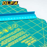 OLFA Foldable Cutter Plate Cushion Green FCM Series A2/A3 Cutting Plate Self healing Easy to Carry
