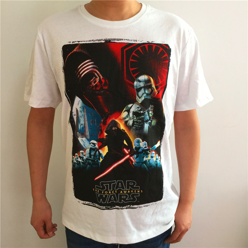 Star Wars Darth Vader T Shirts Men Cotton O Neck 100 Emoji Man t shirt Short Sleeve Euro Size Mens Tops