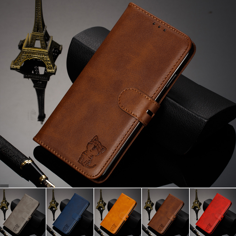 Flip Book Case For Coque Huawei P30 Luxury Cat Leather Wallet Phone Cover For Huawei P30 ELE-L09 ELE-L29 Case Etui Capinha Hawei