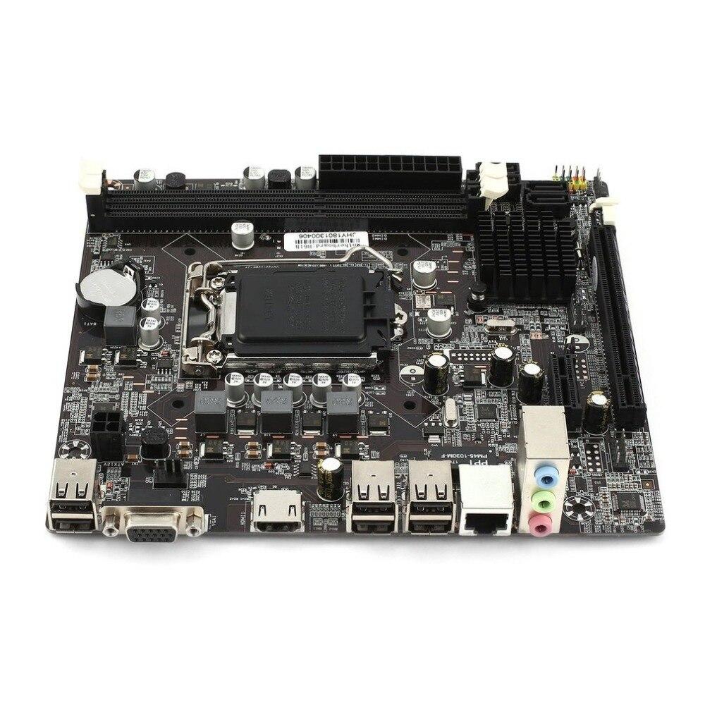 H61 Desktop motherboard ddr3 lga 1155 Mainboard motherboard lga 1155 Pin CPU Interface Upgrade USB2.0 DDR3 1600/1333