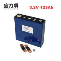 3.2V 123Ah lifepo4 lithium iron phosphate Batteries 4000 CYCLES LFP 12V 24V solar battery 24V100Ah 120Ah cells EU US TAX FREE
