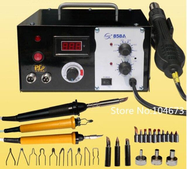 40451 Multifonction Machine Pyrogravure Gourde Bois Pyrogravure Artisanat Outil Kit 110 V 220 V Expédition Rapide Dans Accessoires Doutils