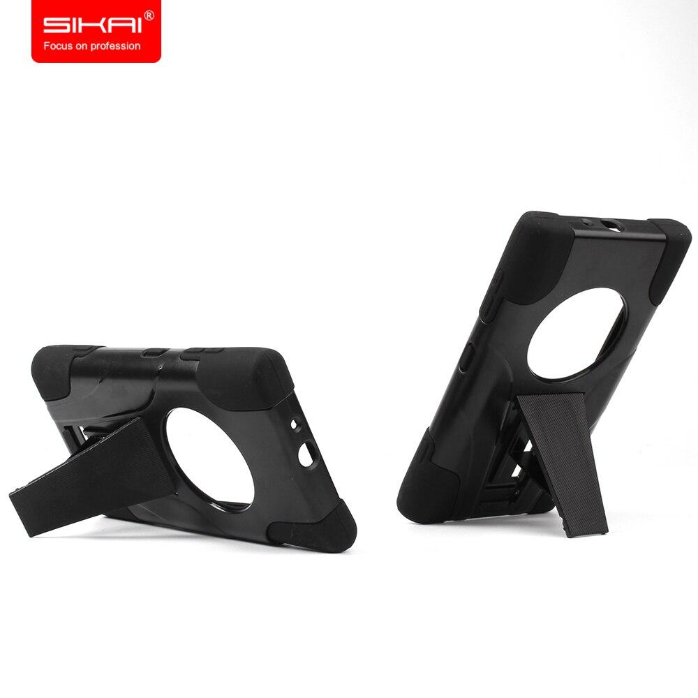 imágenes para Al por mayor Nueva Llegada Shield Shell Duro Caso de la Cubierta protectora de Silicona pesada caja del teléfono Para Nokia Lumia 1020 Envío Gratis