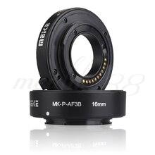 Майке MK-P-AF3B Автофокус Макро Удлинитель Кольцо Для Olympus Panasonic micro DSLR Камеры Бесплатная Доставка