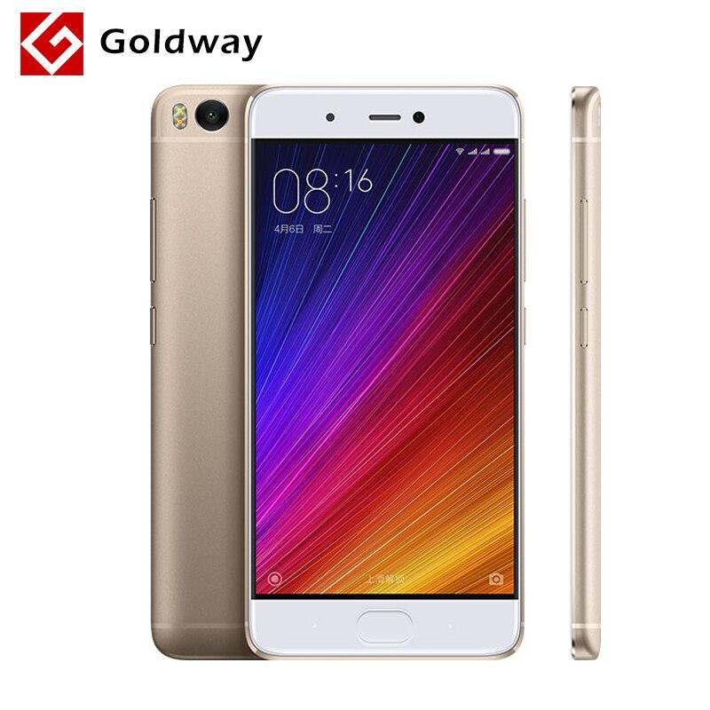 """bilder für Original Xiaomi Mi5s Mi 5 S Handy 3 GB RAM 64 GB ROM Löwenmaul 821 Quad Core 5,15 """"Zoll 1920x1080 P Fingerprint ID MIUI 8"""