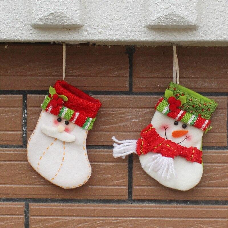Christmas Wedding Party Bag Dinner Dinning Christmas Table Decorations Tableware Set Christmas Stockings bag