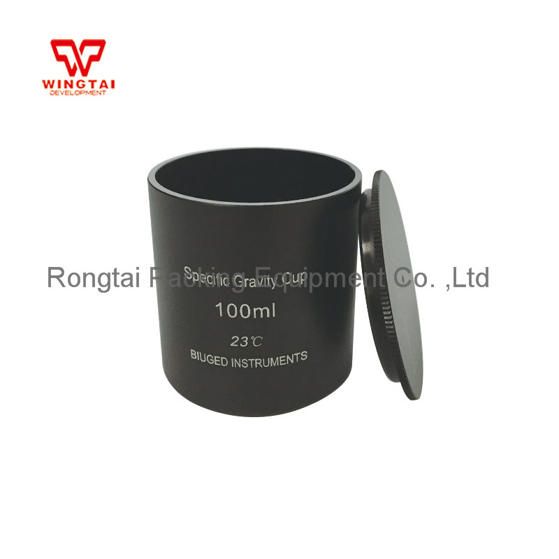 Aluminum Density Measuring Cup 37cc/ml 50cc/ml 100cc/ml Specific Gravity Cup High Precision Density Cup For Lab Testing