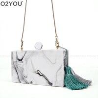 2016 woman's evening Clutch new unique Marble Striped Shoulder Bag elegant wallet Fashion Acrylic Box Bag bolsa feminina handBag