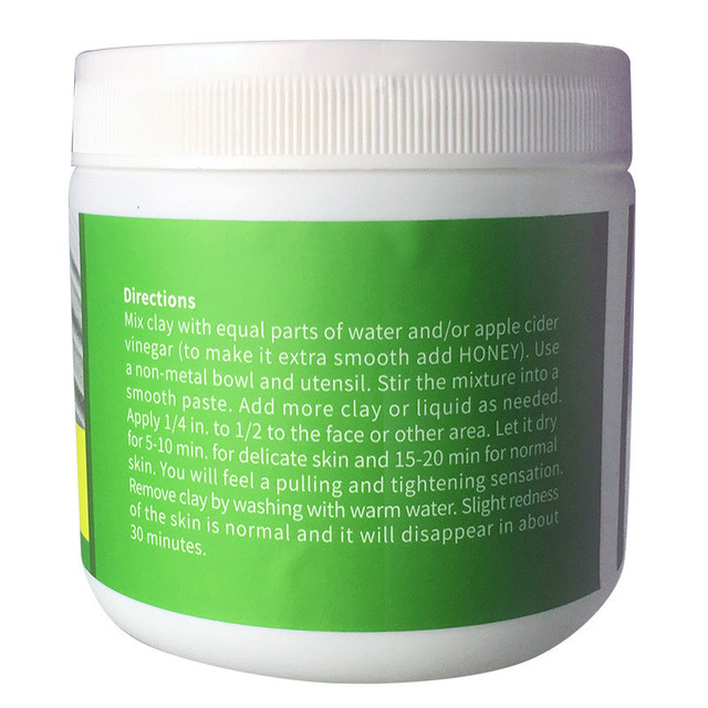 Deep Cleansing Indian Healing Clay Face Mask Powder Natural Skin Pore Moisturizing Replenishment Oil Control Shrink Pores 3