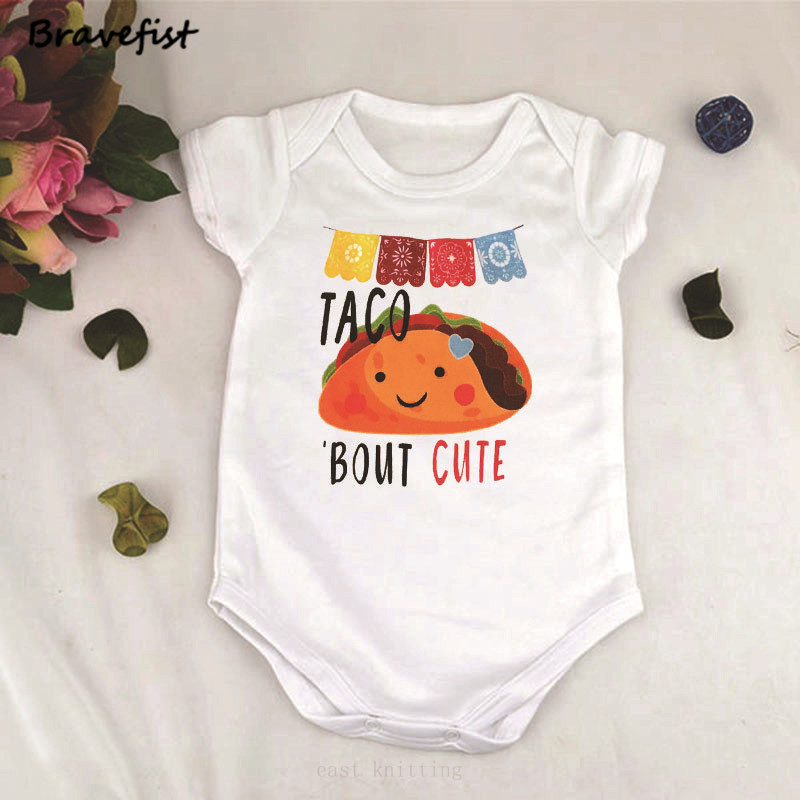 Toddler Baby Boys Bodysuit Short-Sleeve Onesie Creative Pencil Print Jumpsuit Summer Pajamas